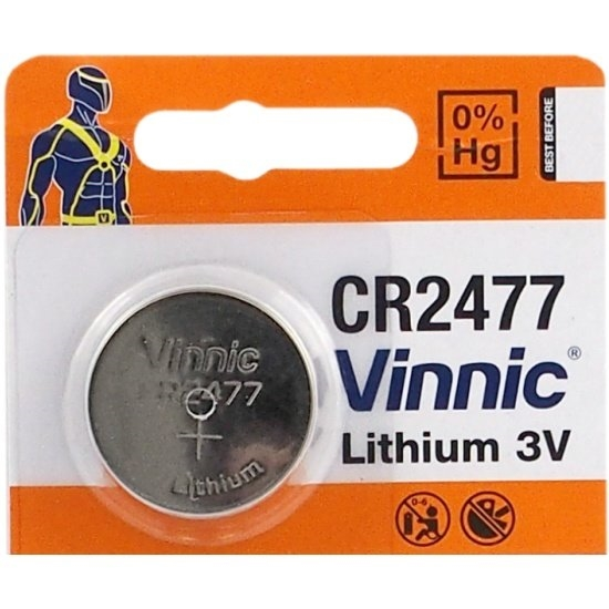 bateria litowa Vinnic CR2477