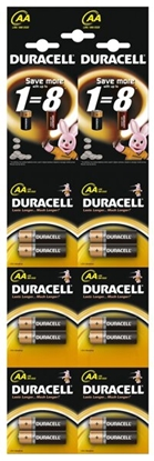 12 x bateria alkaliczna Duracell Duralock Basic C&B LR6 AA (blister)