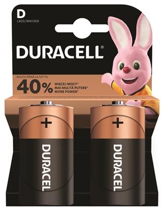 2 x bateria alkaliczna Duracell LR20 D (blister)