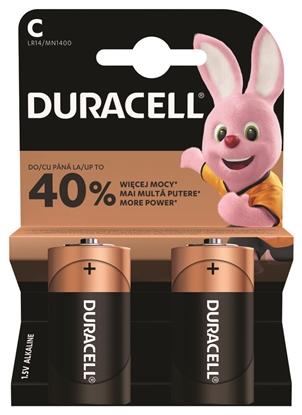 2 x bateria alkaliczna Duracell LR14 C (blister)
