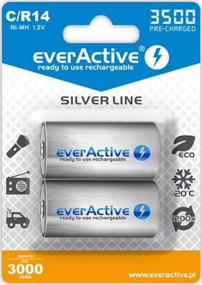 2 x akumulatorki everActive R14/C Ni-MH 3500 mAh ready to use
