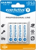 4 x akumulatorki everActive R03/AAA Ni-MH 1050 mAh ready to use