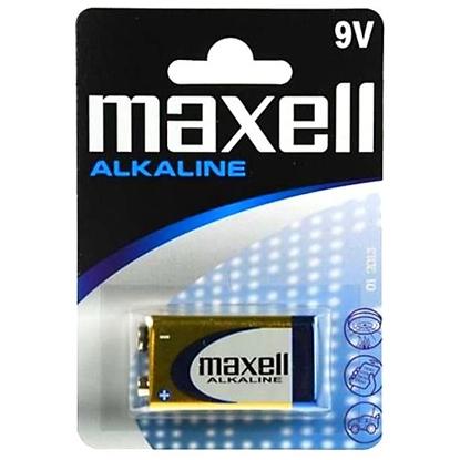 1 x bateria alkaliczna Maxell Alkaline 6LR61 / 9V