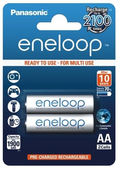 2 x akumulatorki Panasonic Eneloop R6 AA 2000mAh BK-3MCCE/2BE (blister)