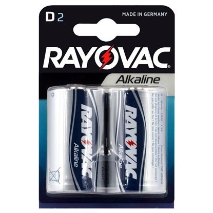 2 x Rayovac Alkaline LR20 / D