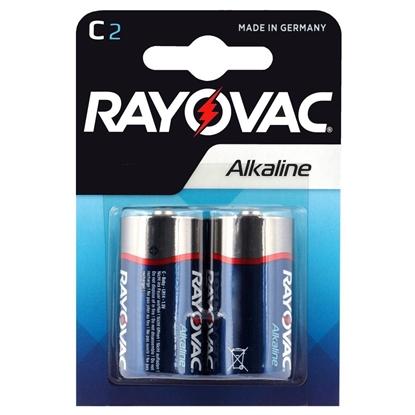 2 x Rayovac Alkaline LR14 / C