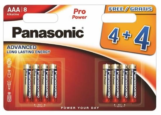 8 x Panasonic Alkaline PRO Power LR03/AAA (blister)