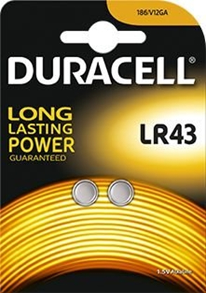 2 x bateria alkaliczna mini Duracell G12 / LR43 / 186 / V12GA / L1142