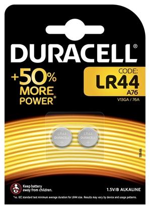2 x bateria alkaliczna mini Duracell G13 / LR44 / A76 / L1154 / 157