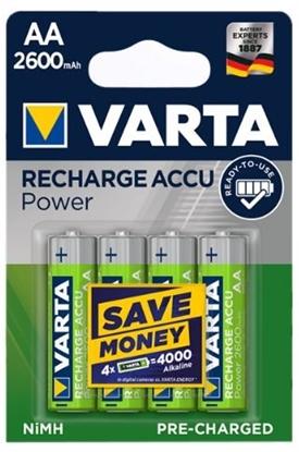 4 x akumulatorki Varta Pro R2U R6 AA 2600mAh