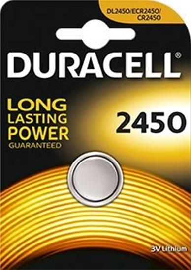 bateria litowa mini Duracell CR2450 DL2450 ECR2450