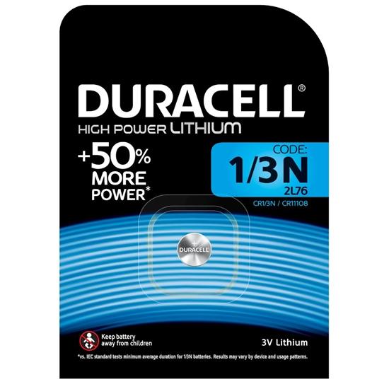 bateria Duracell CR1/3 / 1/3N / 2L76 / DL1/3N / CR11108 / 2LR76