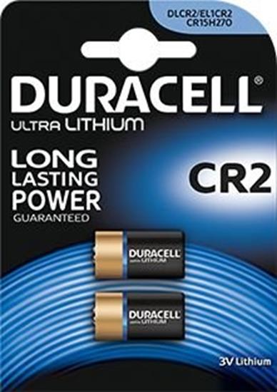 2 x bateria foto litowa Duracell CR2