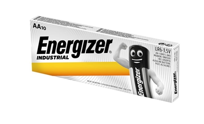 10 x bateria alkaliczna Energizer Industrial LR6 AA