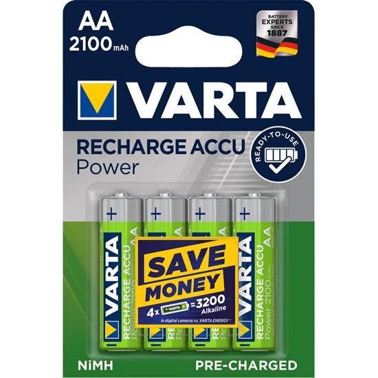 4 x akumulatorki Varta Ready2use R6 AA Ni-MH 2100 mAh