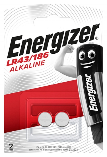 2 x bateria alkaliczna mini Energizer G12 / LR43 / 186