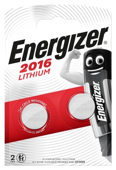2 x bateria litowa mini Energizer CR2016