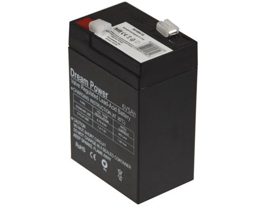 akumulator żelowy AGM Dream Power 6V 5Ah