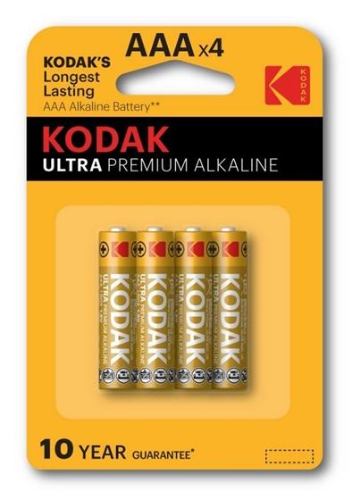 4 x KODAK Ultra Premium Alkaline LR03/AAA (blister)