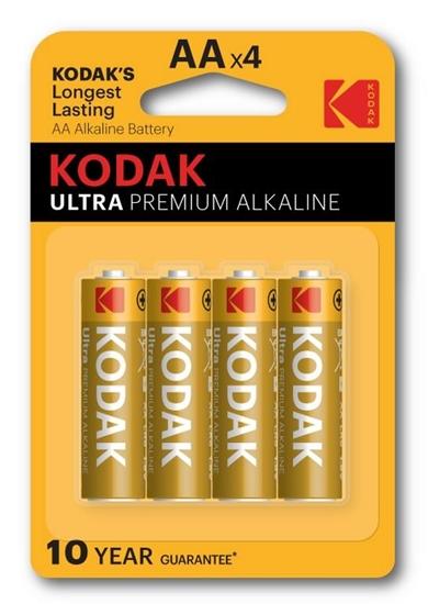4 x KODAK Ultra Premium Alkaline LR6/AA (blister)