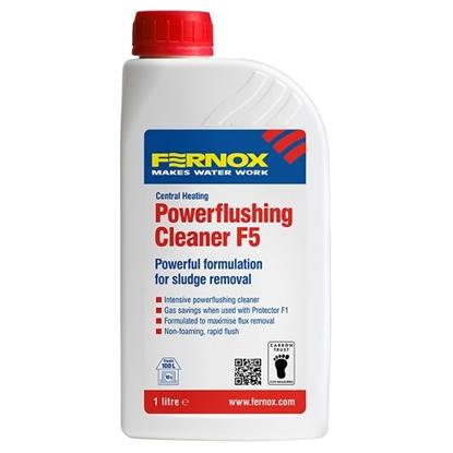 FERNOX POWERFLUSHING CLEANER F5 środek do czyszczenia nowych instalacji