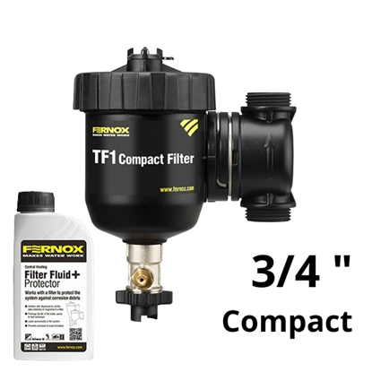 "FERNOX TF1 COMPACT 3/4"" filtr + Inhibitor F1"