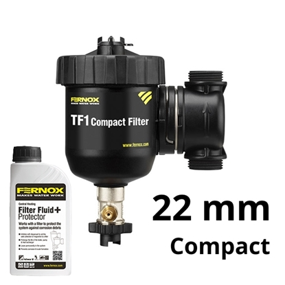 FERNOX TF1 COMPACT 22mm filtr + Inhibitor F1