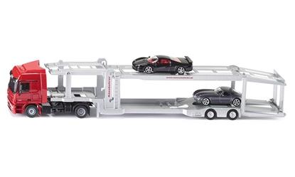 Model 'Siku' Ciężarówka do przewozu aut (3934)