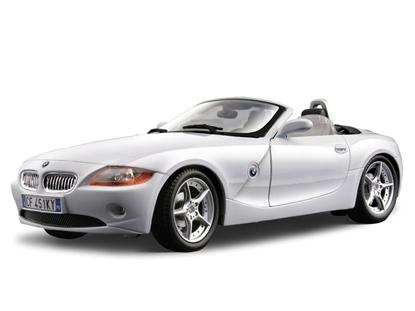 BBURAGO 1:18 BMW Z4 BB-12001 GOLD COLLEZIONE