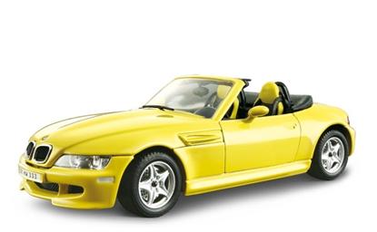 BBURAGO 1:24 BMW M ROADSTER (1996) - KIT DO SKłADANIA (18-25043)