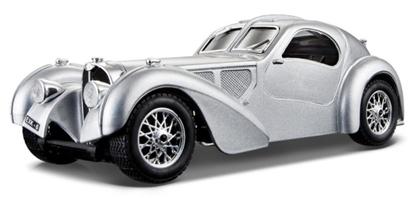 Bburago 1:24 Bugatti Atlantic 1936 -srebrny