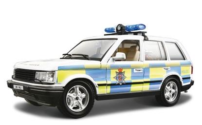 BBURAGO KIT 1:26 RANGE ROVER POLICE (1994) - KIT DO SKŁADANIA