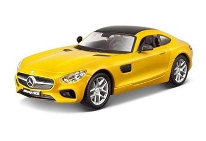 Bburago KIT 1:32 Mercedes AMG GT  -do złożenia     8+ (GXP-623161)