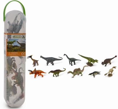 CollectA 01102 Mini dinozaury w tubie  zest. 2 (004-01102)
