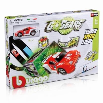 Bburago GoGEARS Super Speed Loop z autkiem pull-back