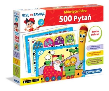 Clementoni Mówiące pióro -500 pytań dla przedszkolaka (60908)