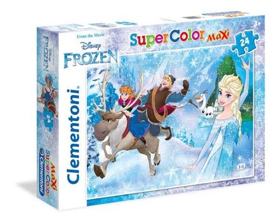 Clementoni puzzle 24 MAXI Frozen (24482 CLEMENTONI)