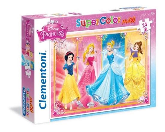 Clementoni puzzle 24 MAXI Princess (24471 CLEMENTONI)