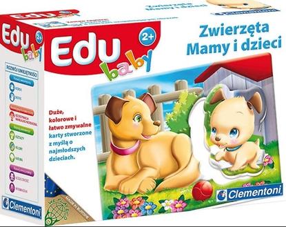 CLEMENTONI EDU BABY ZWIERZĘTA MAMY I DZIECI (60009)