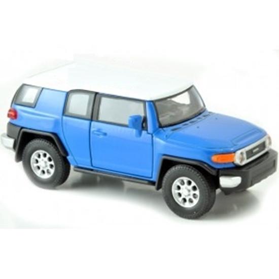WELLY 1:34 Toyota FJ CRUISER niebieski