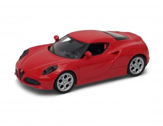 Welly 1:34 Alfa Romeo 4C - czerwony