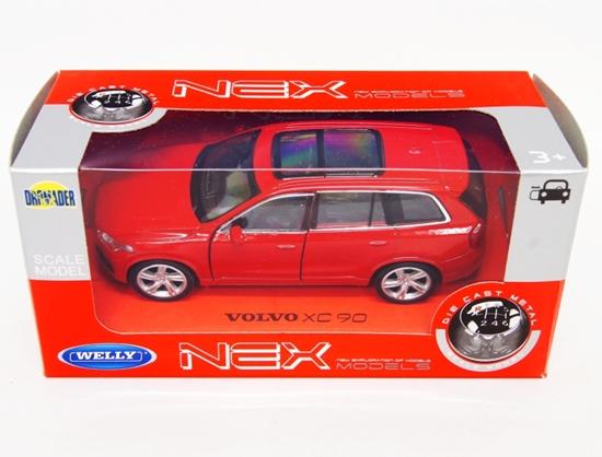 WELLY 1:34 Volvo XC 90 - czerwony