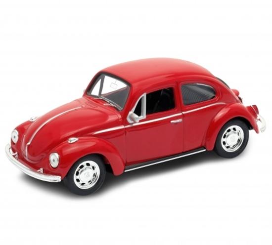 Welly 1:34 Volkswagen Beetle - czerwony