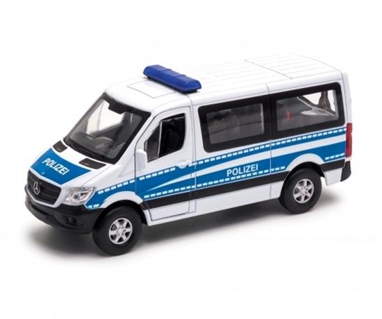 Welly 1:34 Mercedes-Benz Polizei Sprinter Traveliner bia