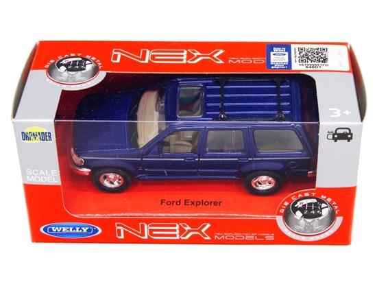 Welly 1:34 Ford Explorer -niebieski