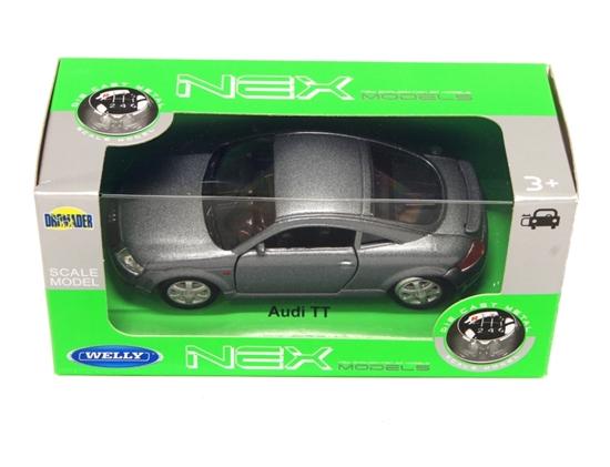 Welly 1:34 Audi TT -grafitowy