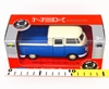 WELLY 1:34 Volkswagen T1 Double Cabin PICK UP niebieski