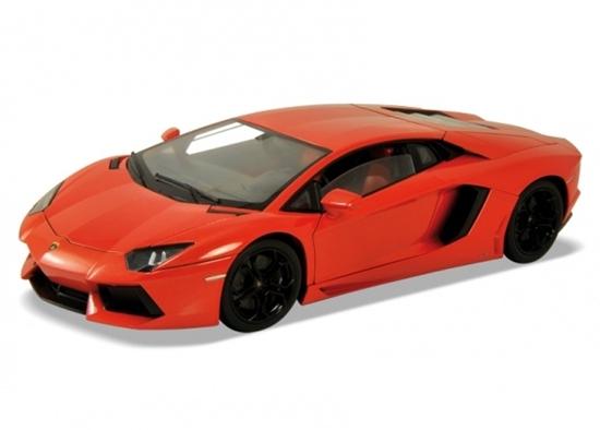 Welly 1:34 Lamborghini Aventador LP700-4 -pomarańczowy