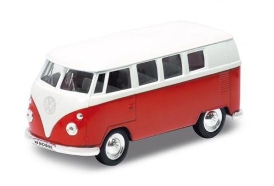 Welly 1:34 VW Volkswagen bus T1 1963 -czerwony