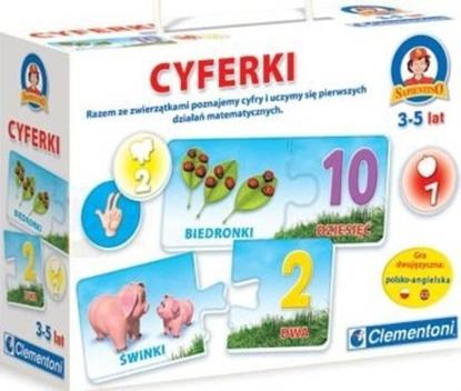 CLEMENTONI GRA CYFERKI (60695)